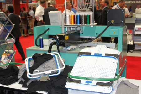 Hirsch Tajima Emb Machine SGIA 2012